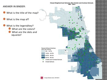 Distribution and Chicago school closings