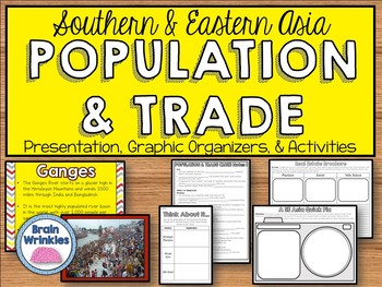 Population Distribution in Southern & Eastern Asia (SS7G11)