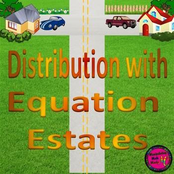"Distribution with ""Equation Estates"""
