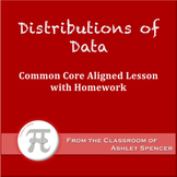 Distributions of Data (Lesson Plan with Homework)