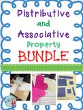 Distributive & Associative Property BUNDLE