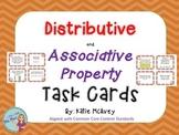 Distributive & Associative Property Task Cards