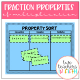 Distributive, Commutative, & Associative Properties (Multiplication & Fractions)