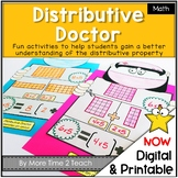 Distributive Doctor Activities {distributive property of multiplication}