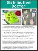 Distributive Doctor Activities {distributive property of multiplication}