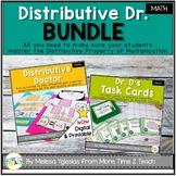 Distributive Property of Multiplication Bundle | DISTANCE LEARNING