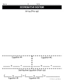 Distributive Doctor (Hands-on Distributive Property Activity)