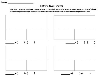Distributive Doctor Recording Sheet