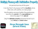 Distributive Fluency Strip Diagram Puzzle Word Form