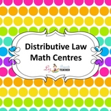 Distributive Law Math Centres