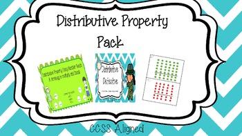 Distributive Property Pack