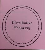 Distributive Property Foldable