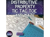 Distributive Property Activity with Digital Version