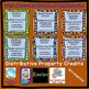 Thanksgiving Fall Distributive Property Negatives Color by Number Coloring Page