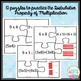 Distributive Property of Multiplication Puzzles