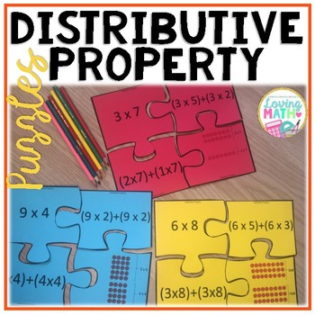 Distributive Property of Multiplication Puzzles by Loving ...