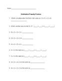 Distributive Property 3rd Grade Eureka Math Module 1