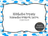 Distributive Property 6.NS.4