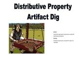 Distributive Property Artifact Dig (Algebra Scavenger Hunt)