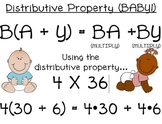 Distributive Property BABY Poster