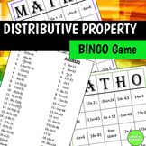 Distributive Property BINGO Game