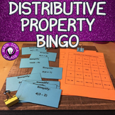 Distributive Property Activity - Bingo