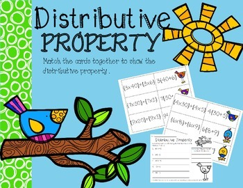 Distributive Property Birdies