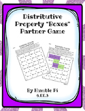 Distributive Property Boxes Partner Game—6.EE.3