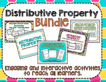 Distributive Property Bundle