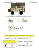 Distributive Property - CCSS 6,7,8