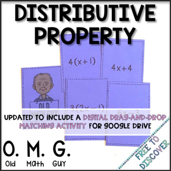 Distributive Property Card Game