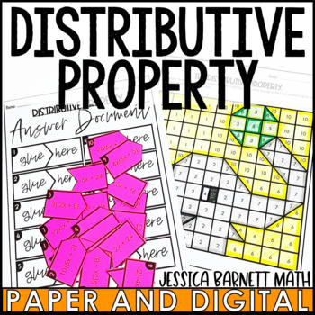 The Distributive Property Activity Pack