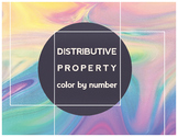 Distributive Property Color By Number
