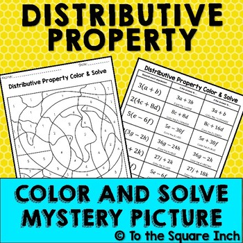 Distributive Property Color and Solve