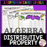 Distributive Property Halloween Algebra Activity