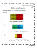 Distributive Property (Common Core Aligned)