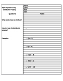 Distributive Property Cornell Notes
