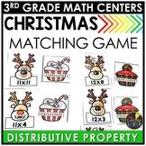 Distributive Property Christmas Game