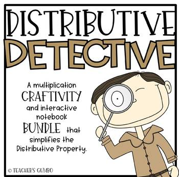 Distributive Property Detective Bundle
