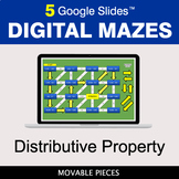 Distributive Property | Digital Mazes Distance Learning |