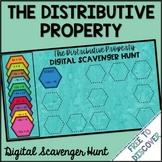 Distributive Property (with Negatives) Digital Scavenger Hunt
