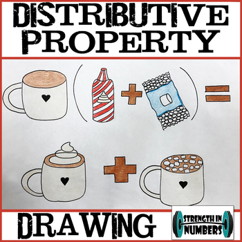 Distributive Property Drawing Activity