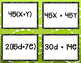 Distributive Property & Equivalent Expressions Guess & Match CCSS 6.EE.3**
