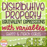 Distributive Property & Equivalent Expressions Guess & Mat