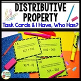Distributive Property Activities Game Card Sets
