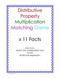 Distributive Property Fact Puzzle x11
