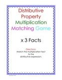 Distributive Property Fact Puzzle x3