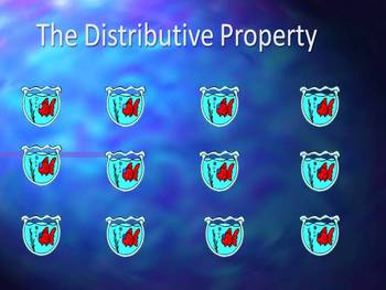 Distributive Property Fish Bowl Game powerpoint