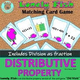 Distributive Property of Multiplication Game and Matching