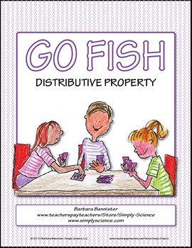 Distributive Property Go Fish Game